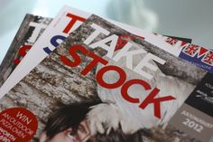 Take Stock magazine produced by the fabl. Distributed by wholesale members of Today's, to 25,000 independent, bars, restaurants, cafes and hotels across the UK.  The publication, which is bi-monthly, has been running since the beginning of 2012. Take Stock, Restaurants, Hotels, Public, Magazine, Running, Drinks, Cafes, Diners