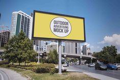 Outdoor Billboards Free Mock Up Set |