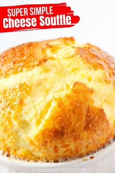 A super simple recipe for a classic Cheese Souffle - forget the intimidating reputation, this classic French recipe is incredibly easy and doesn't require any tricky steps. You don't even need to whisk the eggs! Savoury Pastry Recipe, Savoury Cake, Souffle Recipes Easy, Easy Recipes, Kitchen Recipes, Baking Recipes, French Eggs, Cheese Souffle