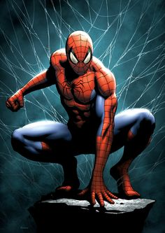 #Spiderman #Fan #Art. (Spiderman) By: FlowComa.