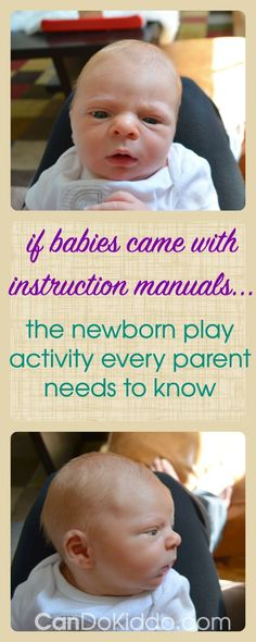 NewBorn Activities : The most essential baby play from a pediatric Occupational Therapist. A must read for new and expectant parents. CanDo Kiddo Newborn Activities Source : The most essential baby play from a Newborn Activities, Kids Fever, Baby Fever, My Bebe, Before Baby, Baby Development, Newborn Care, Baby Play, Baby Time