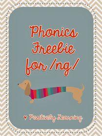 Phonics Freebie for /ng/