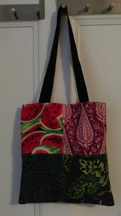 Patchwork Tote for J (Side 1)