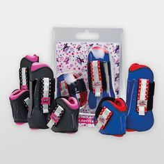 Tottie Cosmic Tendon & Fetlock Boot Set in stock at Equestrian. Get yours today and enjoy cheaper than RRP prices, quick delivery and excellent customer service Horse Boots, Horse Tack, Excellent Customer Service, Cosmic, Equestrian, Horseback Riding, Show Jumping, Equestrian Problems
