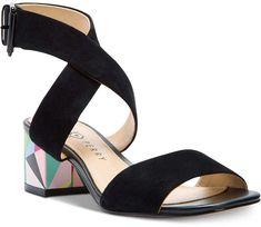 Katy Perry Margot Block-Heel Sandals Women's Shoes