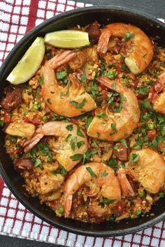 Cauliflower Rice Paella | Every Last Bite