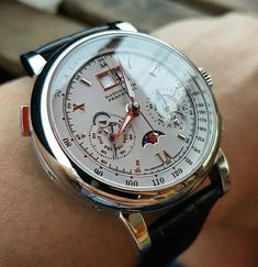 A silver pocket watch is something other pieces of jewelry are not: it is timeless. Watch are the very embodiment of beauty. Modern Watches, Stylish Watches, Fine Watches, Luxury Watches For Men, Vintage Watches, Elegant Watches, Casual Watches, Best Looking Watches, Amazing Watches