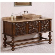 This Beautiful Adelina 27 Inch Antique Bathroom Vanity Gives Your Bath An  Extraordinary Custom Look, Also Adds Luxury Appearance. The Simple Carvedu2026