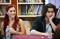 Ariana Grande and Avan Jogia