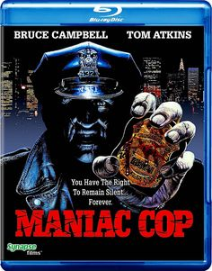 MANIAC COP SYNAPSE FILMS BLU-RAY