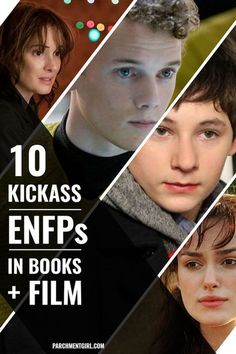 Pavel Chekov, Henry Miller, Elizabeth Bennet, + more rad ENFP characters in books + film!