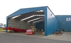 Smart Space have provided the Mitchell Powersystems with a 20 by 25 metres open-ended covered loading bay.