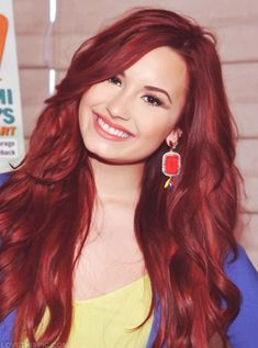 I want to dye my hair this shade  of red hair when I'm older