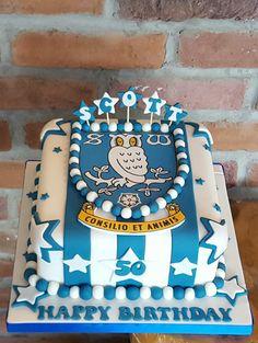 Sheffield Wednesday cake ☺