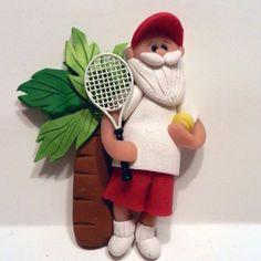 Ornament - Tropical Santa