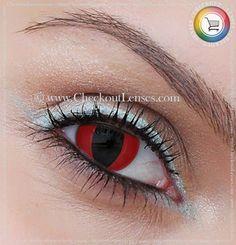 Red Devil UV Crazy Eyes 30 day wear - Checkout Lenses