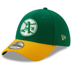 finest selection 628ad de882 Oakland Athletics New Era Timeline Collection 39THIRTY Flex Hat – Kelly  Green Gold,