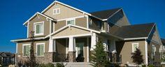 Decorated Model Homes in Salt Lake County, Utah.