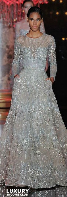 #DELORTAEAGENCY Fabulous Gown of The Day | ELIE SAAB 2014 #designer #ElieSaab #LuxuryIncomeClub #haute #couture