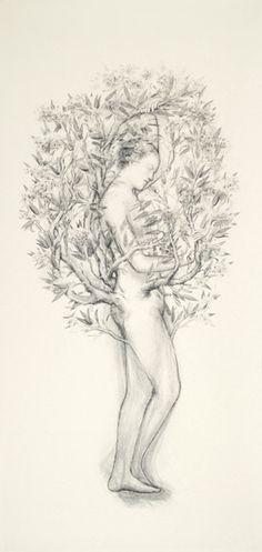 juul kraijer via a billion tastes and tunes #art #figure #fairytale