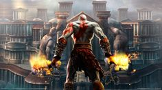 God of War Chains of Olympus HD Wallpapers Backgrounds