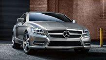 New Mercedes CLS.