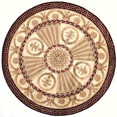 "Momeni Harmony Hand-Tufted Burgundy Area Rug Rug Size: 3'6"" x 5'6"""