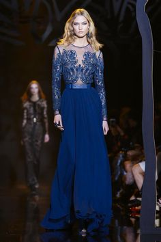 Elie Saab Ready To Wear Fall Winter 2015 Paris...Wow, More interesting details to consider. Change the color & add embellishments that fit your style. Get that designer look without the designer $$$, have it custom-made.