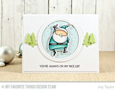 MFT Wednesday Sketch 301 | on my nice list | Simple By Design by Joy Taylor