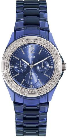 Guess Blue Shiny Watch