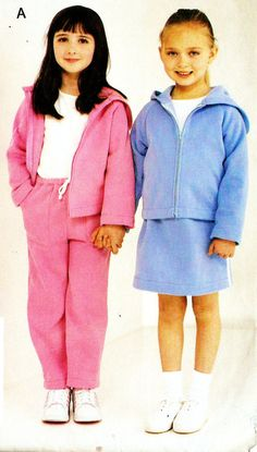 See & Sew 3947 Girl's Sweat Suit Hoodie Jacket by DRCRosePatterns