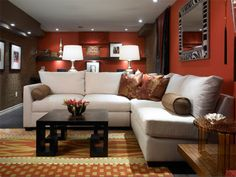Home Basement Decorating Ideas