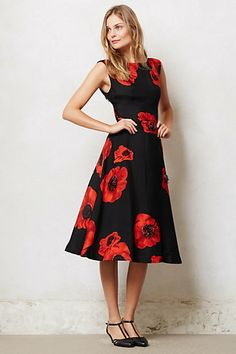 Pretty dress for work.   Can pair with jacket or sweater