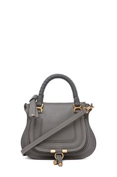 61a0d422f202 Chloe Marcie Mini Bag in Cashmere Grey Chloe Mini Marcie, Cute Purses,  Purses And