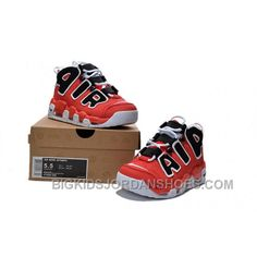quality design e722a 44802 Discount Girls Nike Air More Uptempo Asia Edition Hoop Pack Red Black Hot  KkcJQ