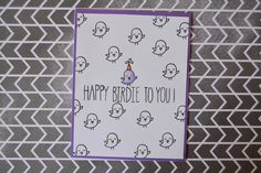 Easy pattern cards