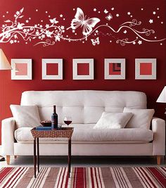 Cherry Blossoms Tree Vinyl Wall Decal