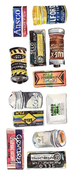 old film packaging - Google Search