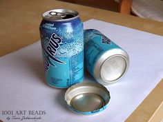 And a cool tip :) Inside of pop can bottom makes a great curved surface to bake on. Just be careful of the sharp edges.