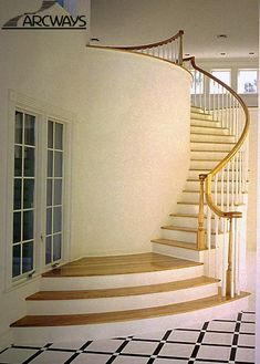 Curved Stairs | Curved Staircase | Circular Staircase