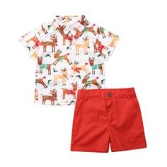 US Xmas Outfits Toddler Kids Baby Boy Christmas Clothes Deer Shirt Shorts Dress Up Outfits, Short Outfits, Toddler Outfits, Baby Boy Outfits, Outfit Sets, Kids Christmas Outfits, Baby Girl Christmas, Toddler Christmas, Christmas Clothes