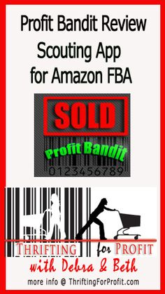 Profit Bandit Review – Scouting App for Amazon FBA