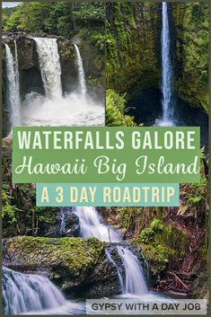 Spend 3 days on Hawaii Big Island, and you will fall in love. Our 3 day Big Island itinerary will show you that it is everything you always imagined it was. We take you to all the Big Island top attractions, and Big Island local secrets. Our Big Island road trip takes you to sunsets, shorelines, waterfalls and forests. You will meet some of the amazing Hawaiian people, and learn about the intriguing native Hawaiian culture too! #hawaii #hawaiitravel #bigisland #usatravel #pacificislands