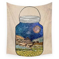 Society6 Star Jar Wall Tapestry Small 51 x 60 ** Read more reviews of the product by visiting the link on the image.