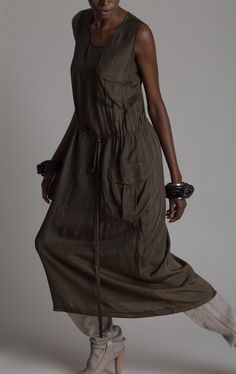 Comme des Garçons Parachute Dress Designer Vintage Fashion