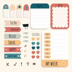 Printable Post It Notes . Printable Post It Notes . Journal Stickers, Printable Planner Stickers, Printable Paper, Free Printable, Cute Notes, Good Notes, Ed Wallpaper, Memo Notepad, Notes Design