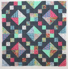 Tutorial: Jewel Box Baby Quilt in Liberty Lawn