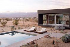 L Shape house in California Desert – By Marmol Redziner
