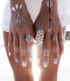 Flash Tattoo And Summer Jewelry
