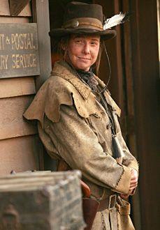 Robin Weigert as Calamity Jane in Deadwood